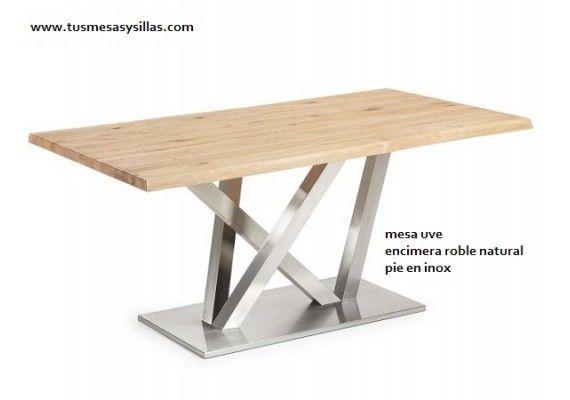 oferta mesa cocina comedor bodega mesa uve la forma txoko con encimera en madera