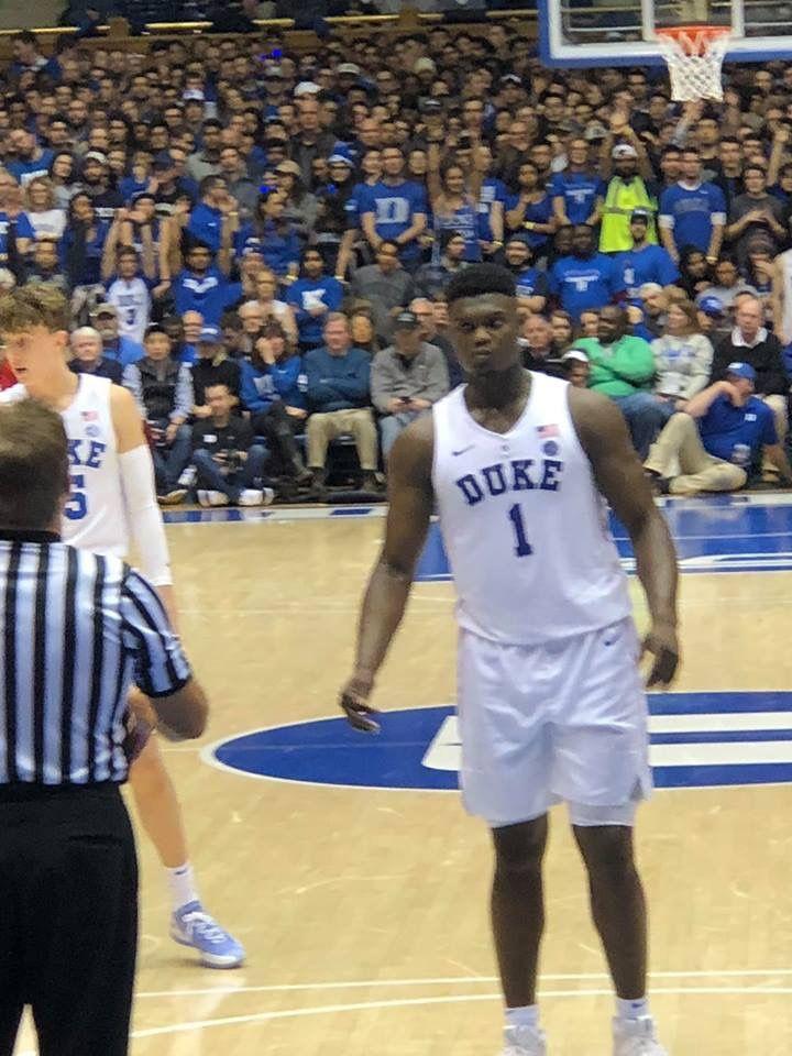 Zion's got game Virginia basketball, Duke basketball