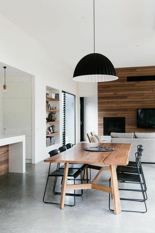 Esszimmer Ideen Moderner Esstisch Esszimmerstühle Schwarz Tolles Design