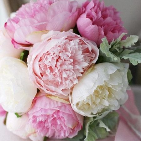 Phoenix peony silk flower bouquet flowers pinterest silk phoenix peony silk flower bouquet mightylinksfo