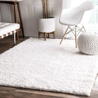 Shop For NuLOOM Alexa U0027My Soft And Plushu0027 Shag Rug (8u0027 X · White Shag Area  ...