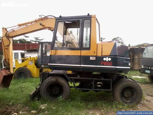 Komatsu PW60 3 Wheel Type Excavator PRICE ASK Negotiable