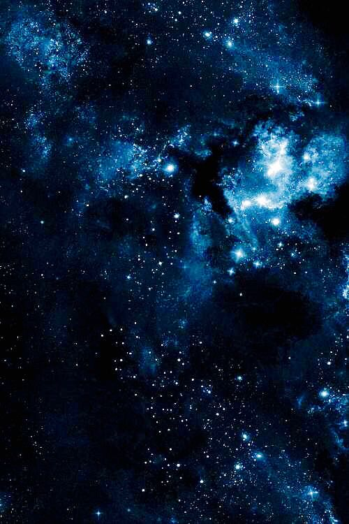 Blue Galaxy Background : galaxy, background, Galaxy, Nebula, Wallpaper, Iphone,, Starry, Night
