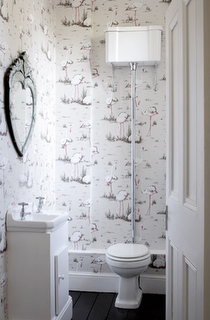 Ive Got This Wallpaper In My Bathroom I Love It Bathrooms