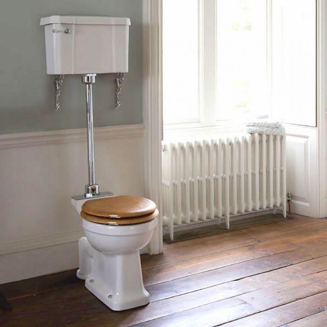 Burlington Medium Level Toilet Available At UK Bathrooms Bathroom Adorable Bathroom Burlington Ideas