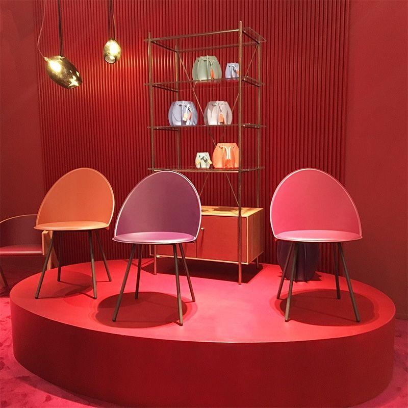 Chaise Italienne Vintage En Croute De Cuir Amika Meubles En Cuir Chaise Cuir Decoration Maison