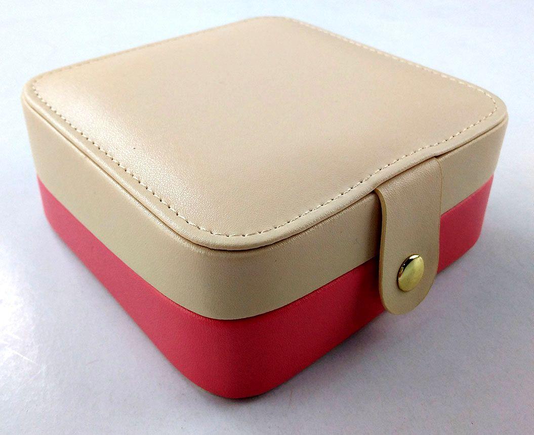 Pocket Size Small Portable Travel Jewelry Box With Size 4 3x4 3x1 8 11x11x4 5cm Small Jewelry Box Jewelry Organizer Box Travel Jewelry Box
