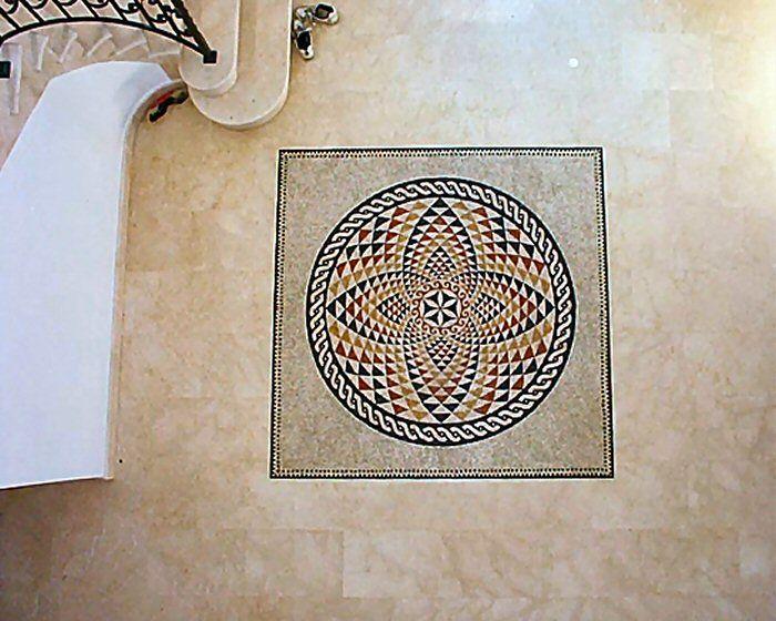 Roman Mosaic Floor Tiles - Classic Designs - Entrance Hall | Mosaic ...