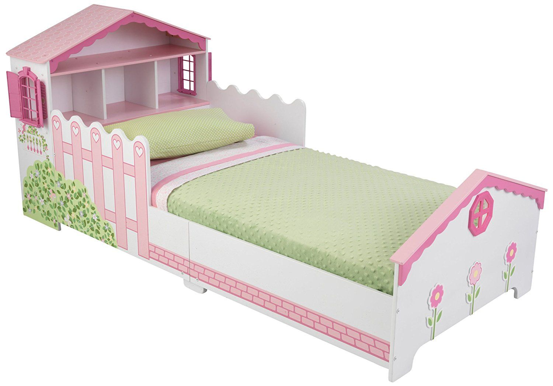 Kidkraft Dollhouse Toddler Bed Amazon Co Uk Toys Games