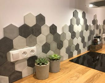 Tegels Keuken Honingraat : Concrete hexagon tiles keuken keuken bungalow