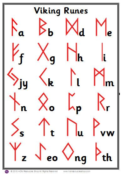Viking Runes Could Do A Runic Word Search Or Pair It With