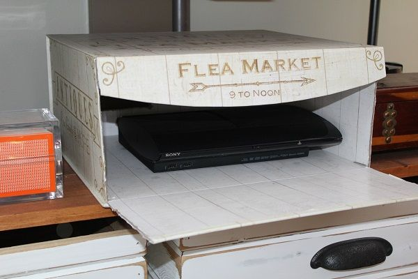 Decorative Box To Hide Cords : How to hide your not so decorative items whether it s