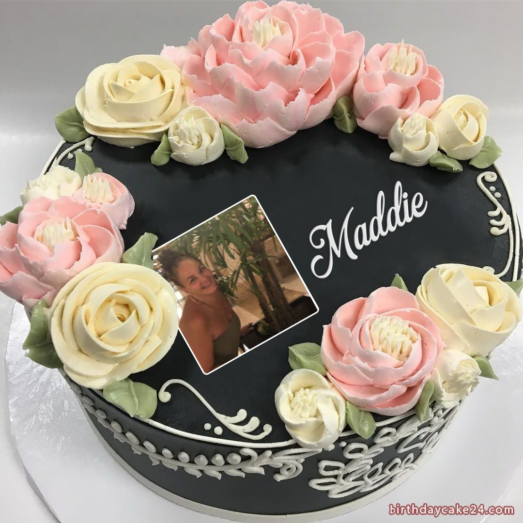 Latest birthday cake with name and photo edit latest