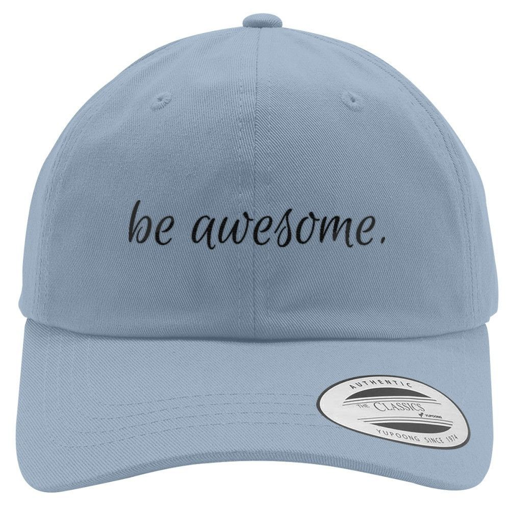 Be Awesome Cotton Twill Hat