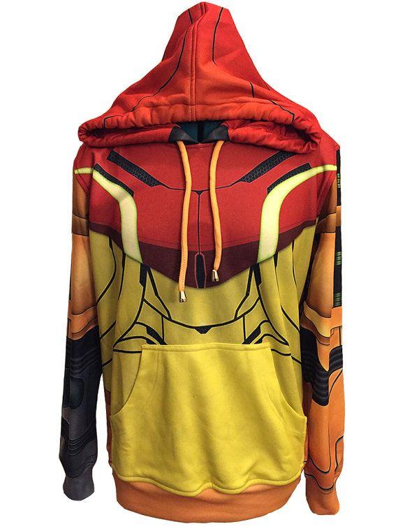 25f7919c89c Samus Inspired Sweatshirt by TheTastefulNerd on Etsy. I NEED it. Mens Small.
