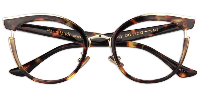 89be4b3de70c Womens Prescription Eyeglasses Retro Tortoise Cat Eye Glasses 0170 ...