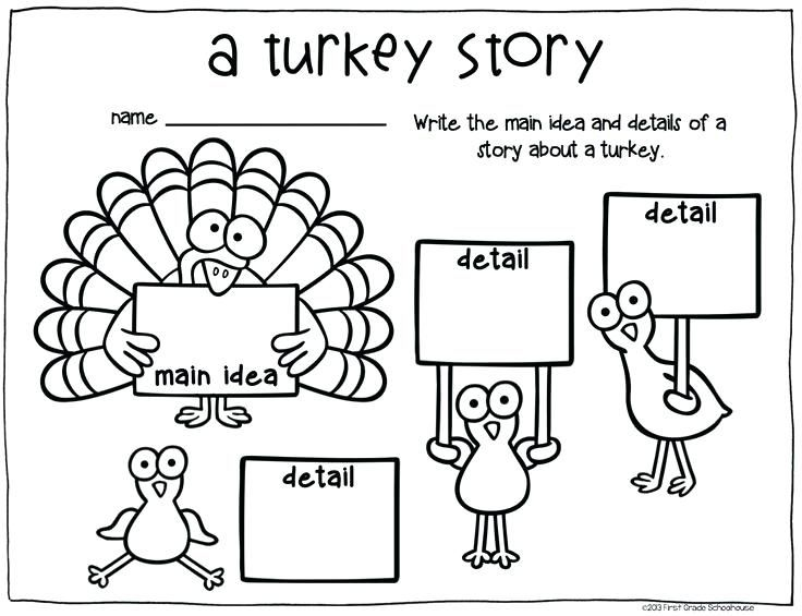 Thanksgiving Worksheets First Grade (With images