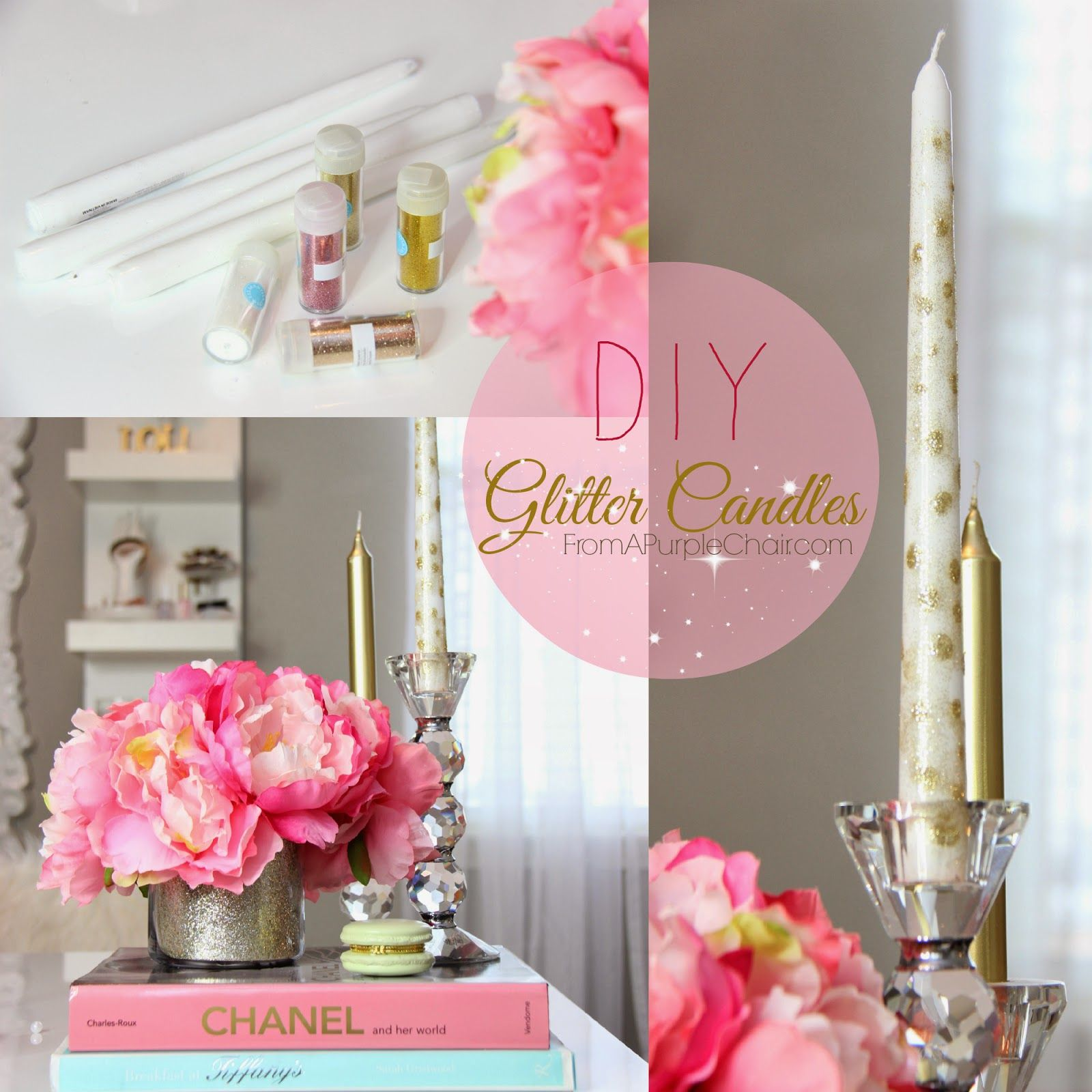 Girly Diy Bedroom: Glamorous Decorations For Girly Office, Makeup Room