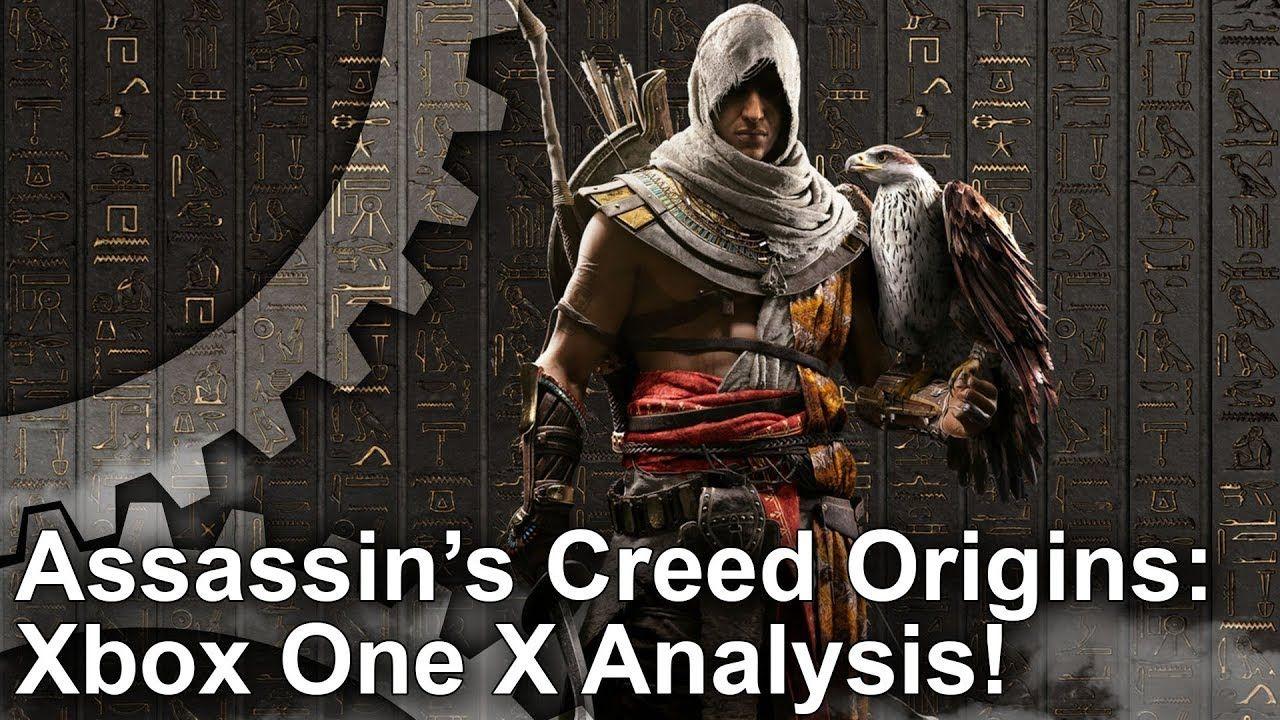 4K] Assassin\'s Creed Origins Xbox One X vs PS4 Pro vs PC Graphics ...