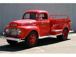 1949 Ford Fire Truck Fire Trucks Fire Trucks For Sale Ford Trucks