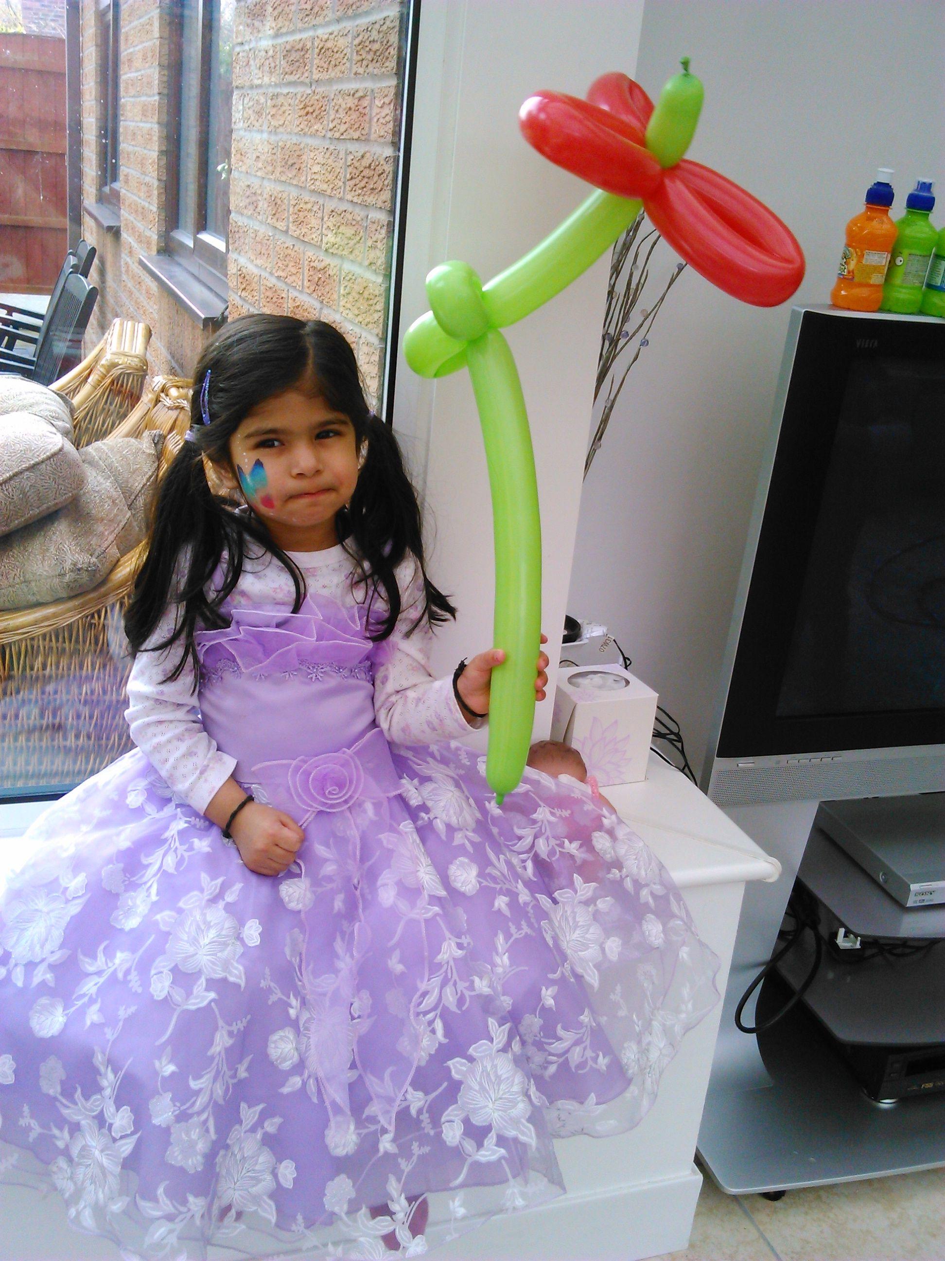 Flower Balloon #flower #balloonmodel #party