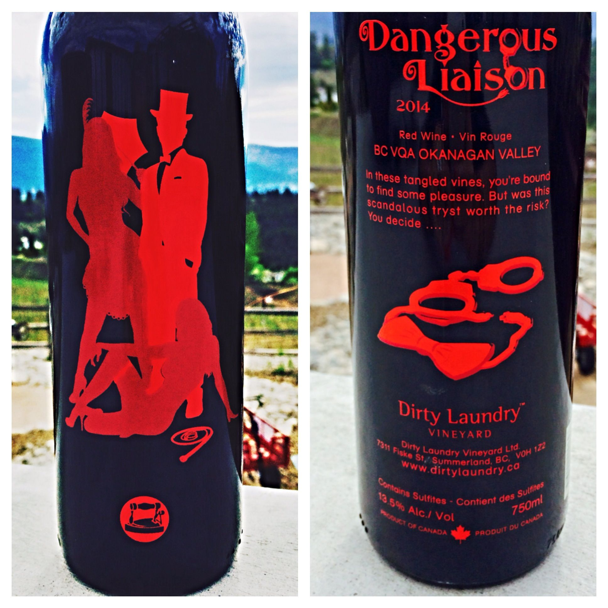 Dangerous Liaison 2014 Http Bit Ly 1f49pux Dangerous Liaisons Okanagan Valley Red Wine