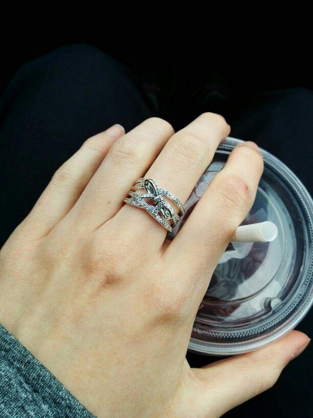 02f09ddf2 Pandora Delicate Sentiments Ring 190971P Shop ... inlove present ring  pandorarings Stunning new Pandora ring titled ...
