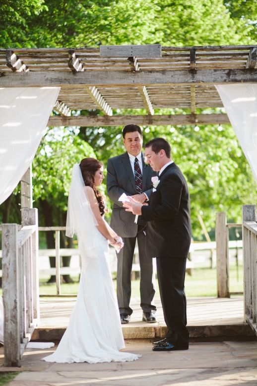 Sweet, personal wedding vows! http://www.neverseriousblog.com/the-perfect-day-wedding-recap-part-1-2/