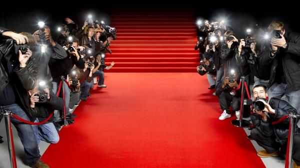 Red Carpet. Press. Cameras flashing. Pictures taken ...