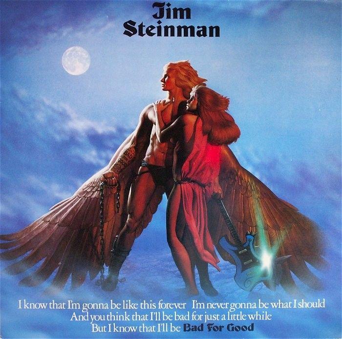 Jim Steinman Bad For Good Banda Desenhada Look E