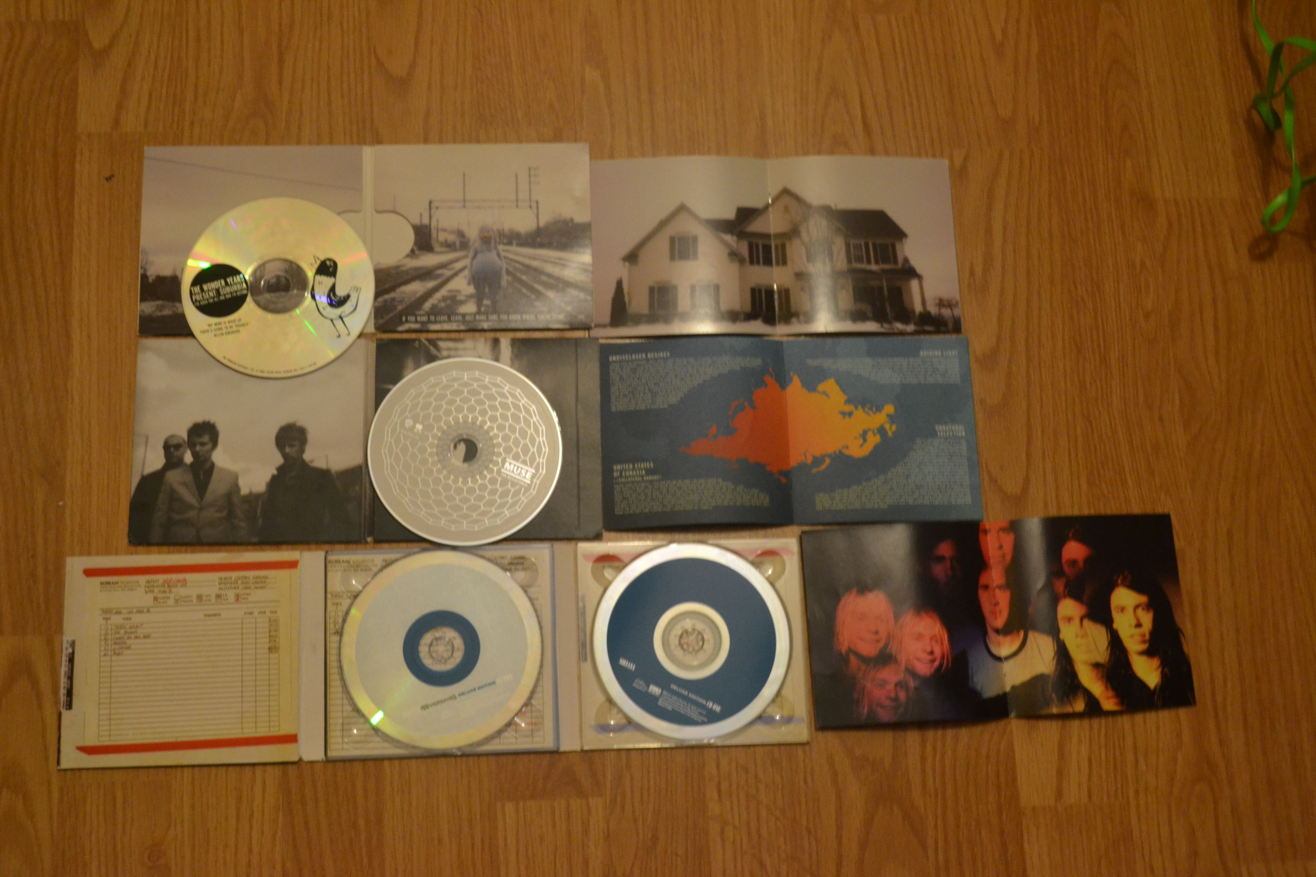 Digipak inspiration with images music record music