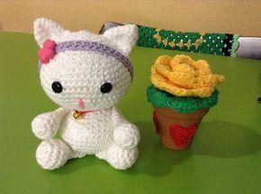 Amigurumi Tutorial Animali : Amigurumi kitten free crochet pattern tutorial animali