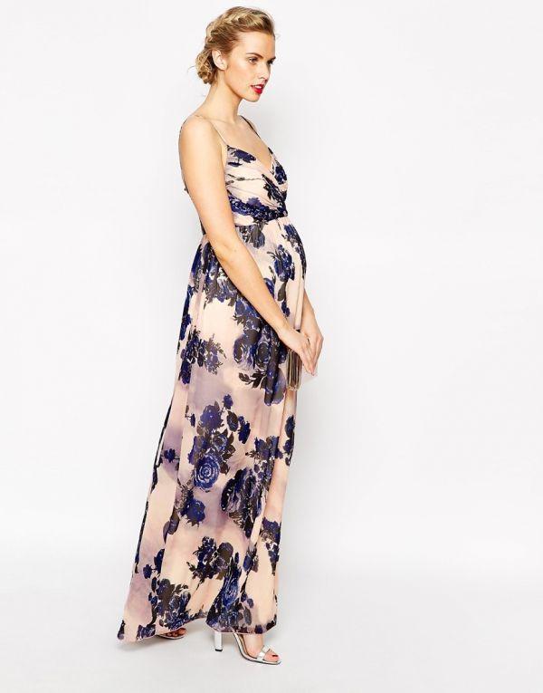 bbbf220e0 Vestidos de noche para embarazadas ¡26 Outfits Exclusivos!