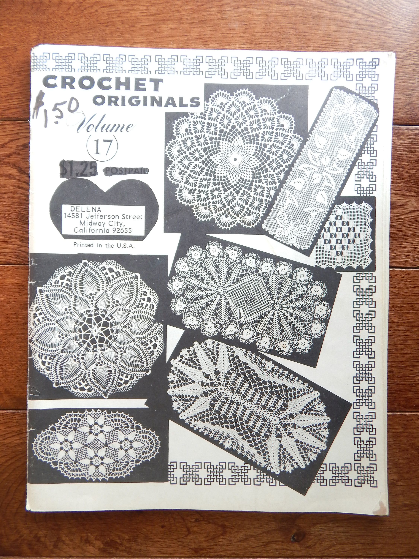 Vintage Crochet Doily Patterns by Elizabeth Hiddleson/ Crochet ...
