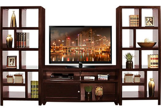Shop For A Ryder 3 Pc Wall Unit At Rooms To Go Find Wall Units That Will Look Great In Your Home And Com Rooms To Go Furniture Wall Unit Rooms