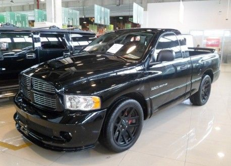 The Dodge Ram Srt 10 Was Made From 2004 Until 2006 And Only 9 527