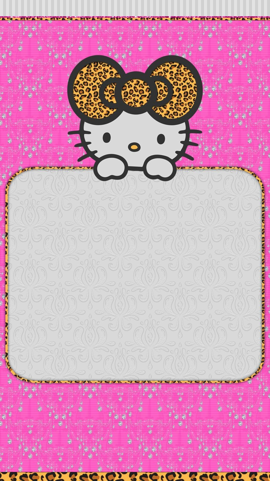 Pink Diamonds Wallpaper Iphone Hello Kitty Backgrounds