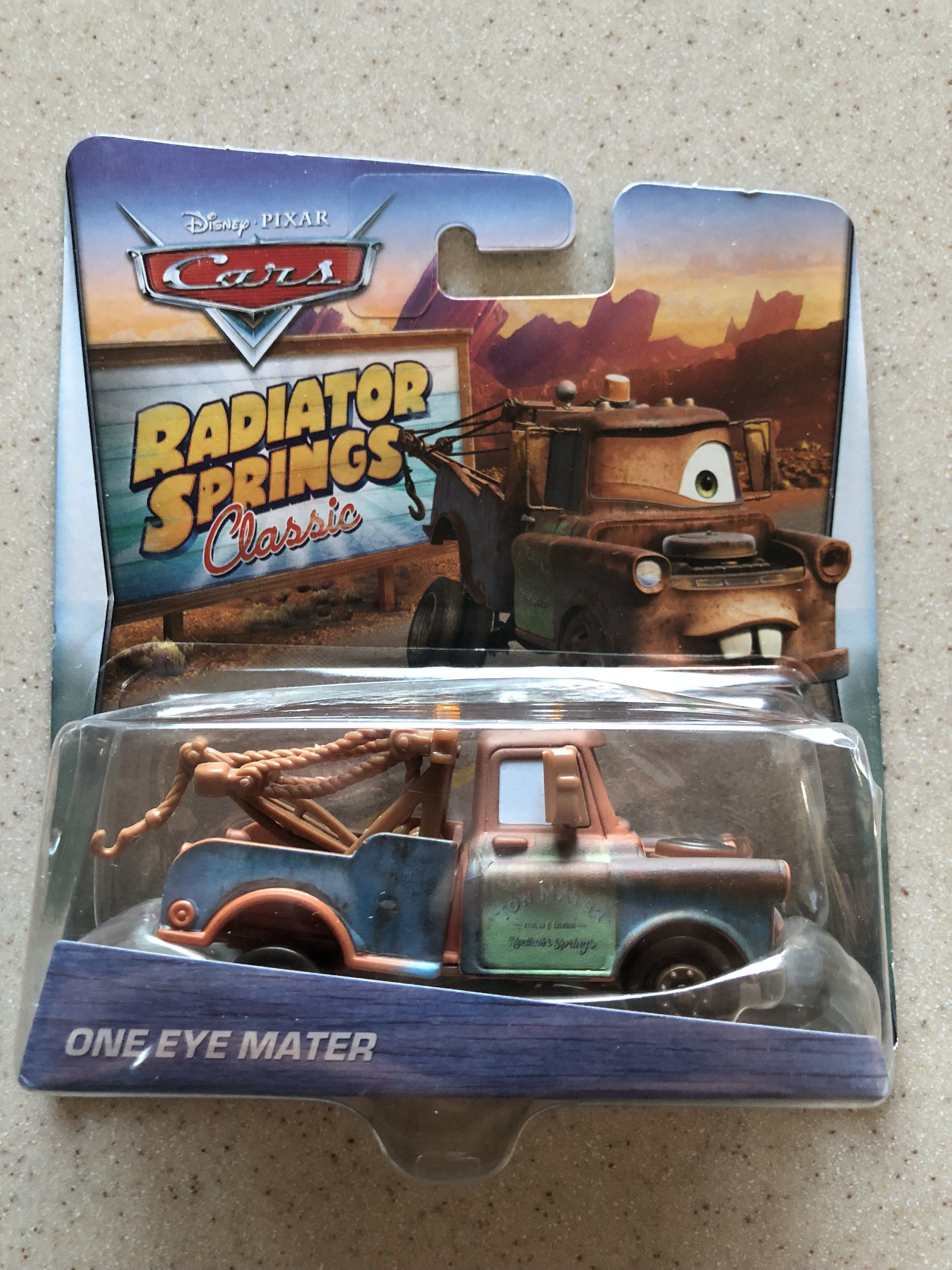 Radiator Springs Classic Cars One Eye Mater Products Classic