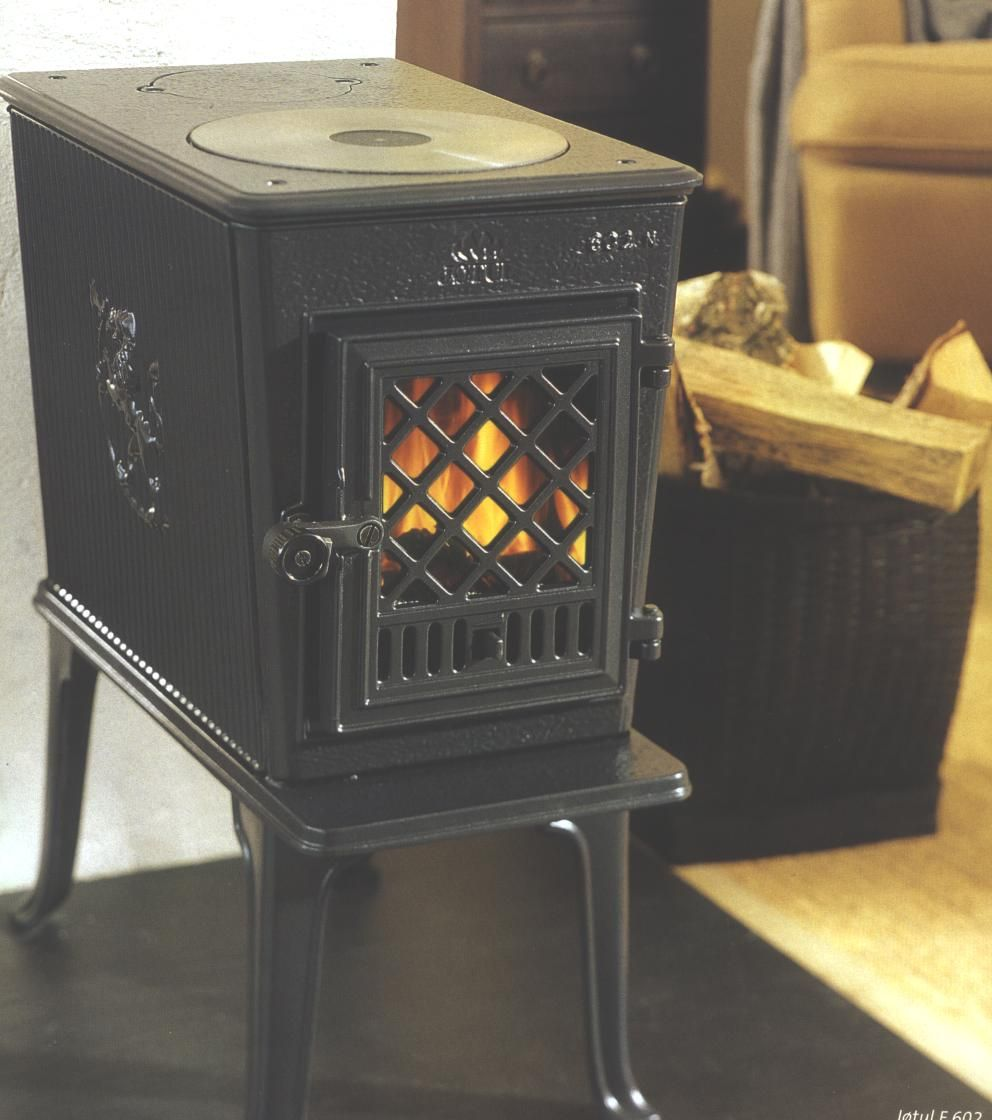 JOTUL Product 1 Free standing wood stove, Tiny texas
