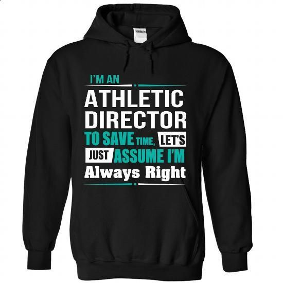 Athletic Director - #sweatshirt zipper #tumblr sweater. GET YOURS => https://www.sunfrog.com/Funny/Athletic-Director-8722-Black-Hoodie.html?68278