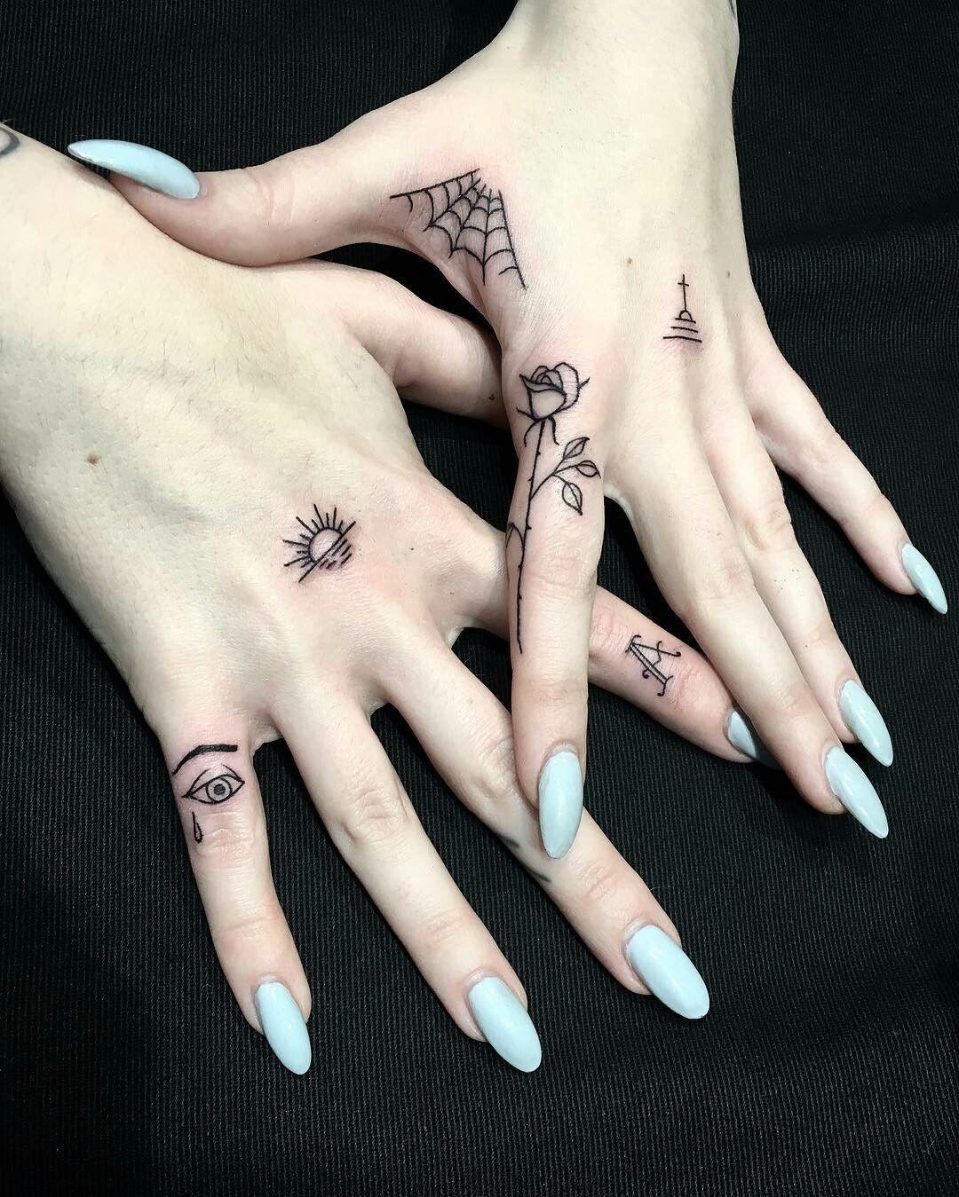 b04f56a0b Tattoos and piercings | Tattoos | Tattoos, Hand tattoos, Finger tattoos