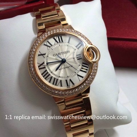 Cartier Ballon Bleu De Cartier Automatic Midsize 36mm Rose Gold