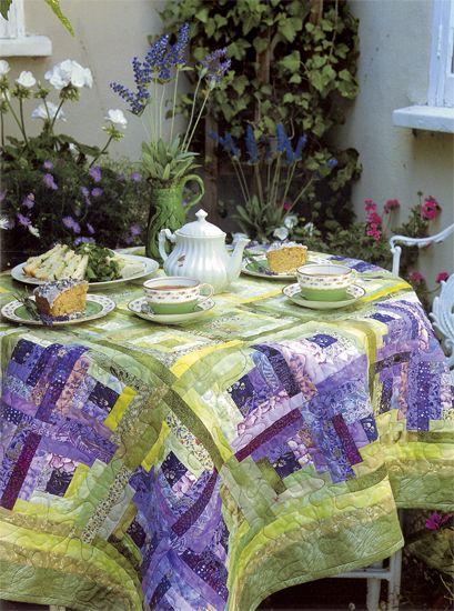 Lavender Tea quilt