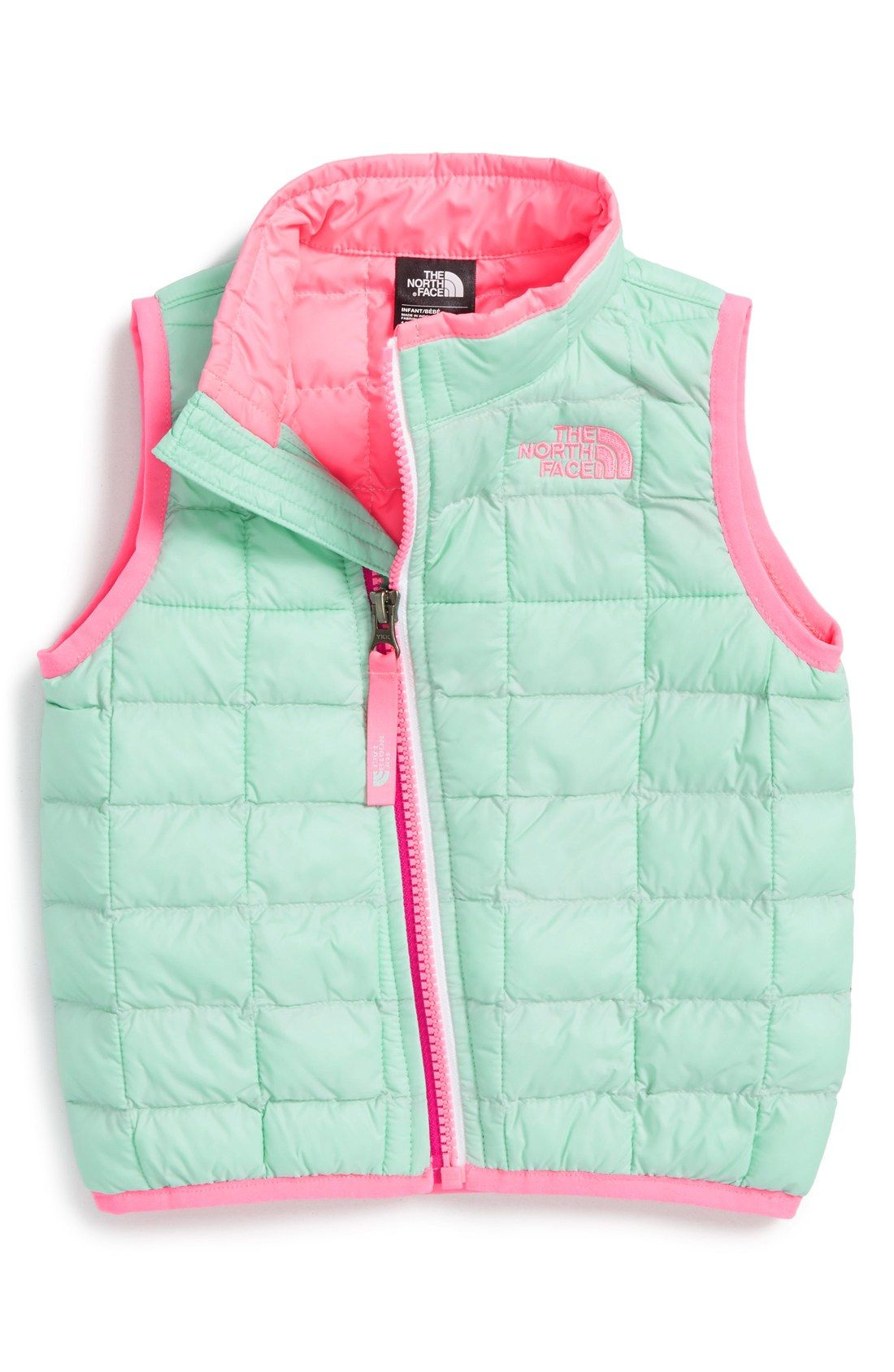 115e509c3f47 The North Face  ThermoBall™  PrimaLoft® Vest (Baby Girls)