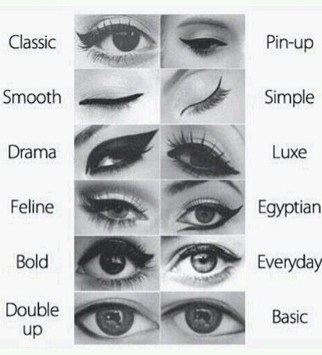 Different ideas for your eyes ...