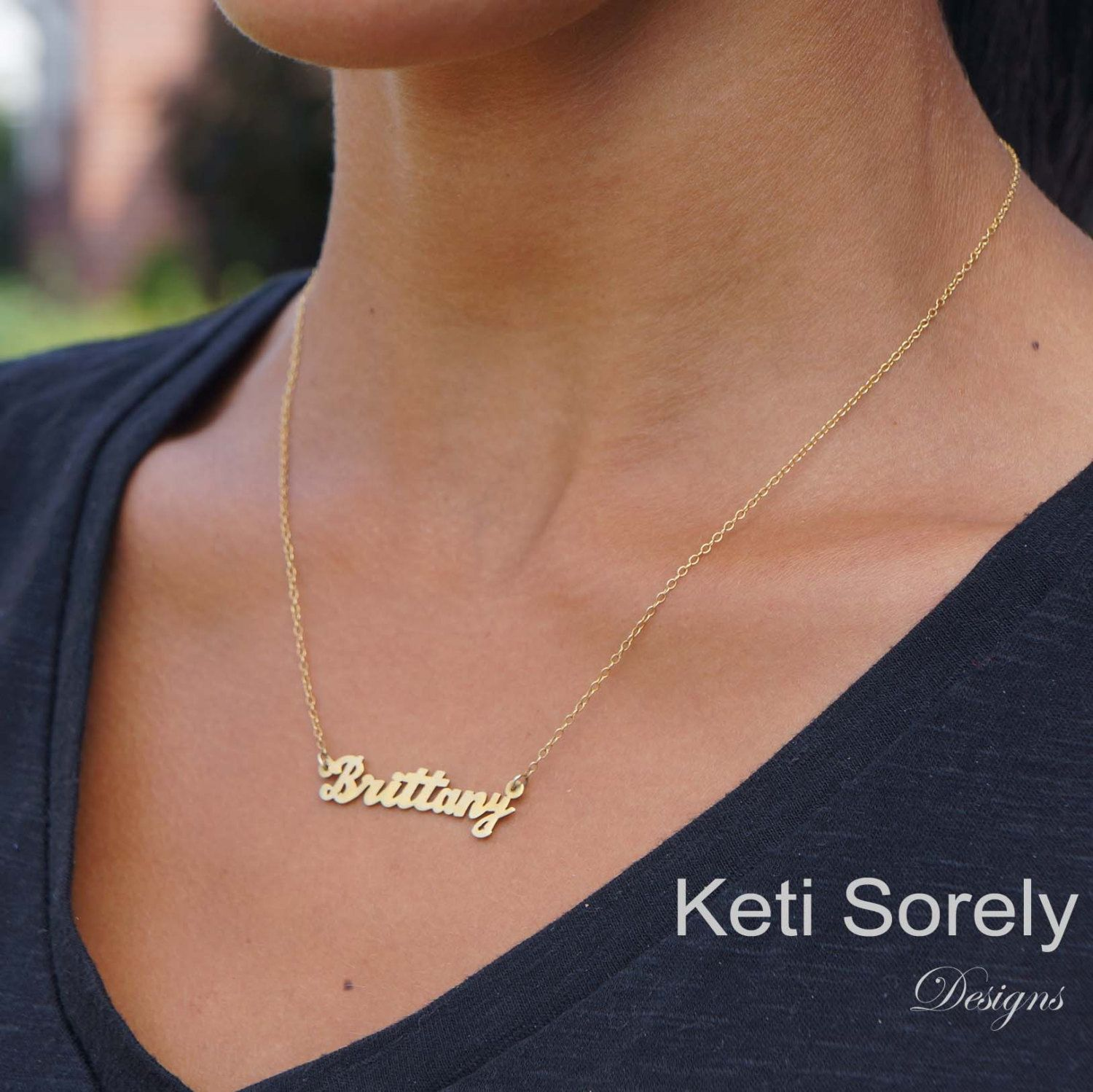 Personalized Name Necklace Customize It With Your Name Etsy Necklace Nameplate Necklace Name Necklace