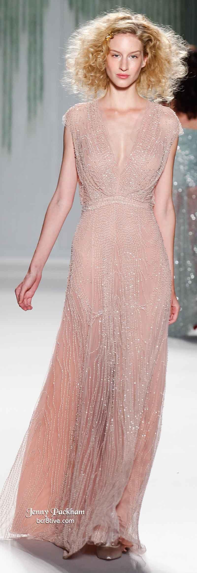 Jenny Packham Spring 2014 | Vestido de ensueño, Vestiditos y Moda ...