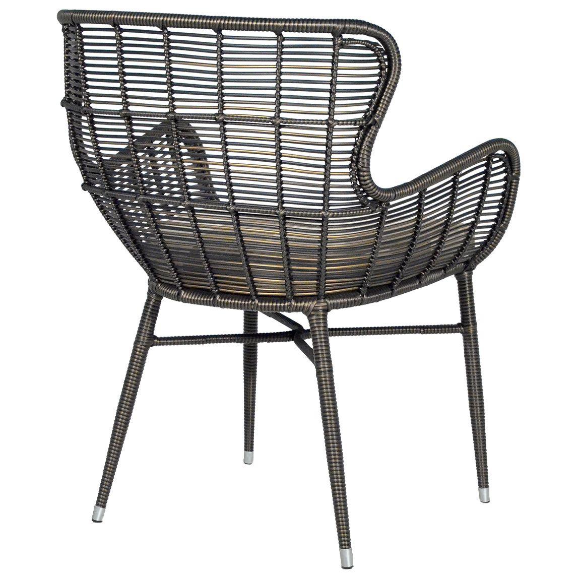 Palermo Indoor/Outdoor Espresso Chair @Zinc_Door - Palermo Indoor/Outdoor Espresso Chair @Zinc_Door Home Pinterest