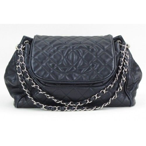 c8c1067139c8 Chanel Black Quilted Caviar Leather Timeless Accordion Flap Shoulder Bag-  $2,299 #MoshPosh