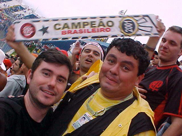Em São Caetano, impossível evitar as lágrimas nos olhos com a vitória do Furacão. O dia do título de Campeão Brasileiro!